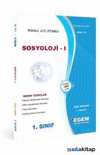 1. Sınıf 1. Yarıyıl Sosyoloji 1 Konu Anlatımlı Soru Bankası (Kod 171) Egem Yayınları