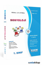 1. Sınıf 1. Yarıyıl Sosyoloji Konu Anlatımlı Soru Bankası