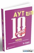 2019 AYT Sözel 10 Deneme Seti