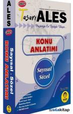 2021 ALES Matematik-Türkçe Konu Anlatımı Tasarı Eğitim Yayınları