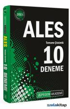 2021 ALES Tamamı Çözümlü 10 Deneme Pegem Yayınları