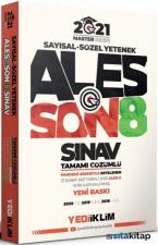2021 ALES Tamamı Çözümlü Son 8 Sınav Çıkmış Sorular Yediiklim Yayınları