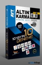 2021 AYT 10 Farklı Yayın 10 Farklı Deneme Altın Karma Yayınları