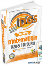 DGS Matematiğin Kara Kutusu Tek Kitap Tamamı Çözümlü Konu Özetli Soru Bankası