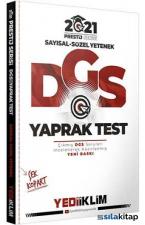 2021 DGS Prestij Serisi Çek Kopart Yaprak Test Yediiklim Yayınları