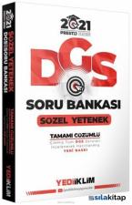 2021 DGS Sözel Yetenek Soru Bankası Prestij Serisi Yediiklim Yayınları