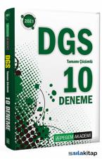 2021 DGS Tamamı Çözümlü 10 Deneme Pegem Yayınları