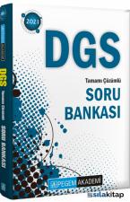 2021 DGS Tamamı Çözümlü Soru Bankası Pegem Yayınları