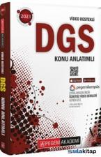 2021 DGS Video Destekli Konu Anlatımlı Pegem Yayınları