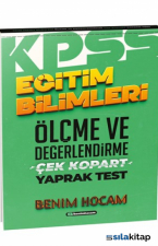 2021 Eğitim Bilimleri Ölçme ve Değerlendirme Çek Kopart Yaprak Test Benim Hocam Yayınları
