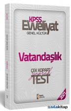 2021 Evveliyat KPSS Genel Kültür Vatandaşlık Çek Kopar Yaprak Test İsem Yayıncılık