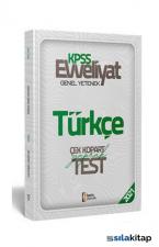 2021 Evveliyat KPSS Genel Yetenek Türkçe Çek Kopar Yaprak Test İsem Yayıncılık