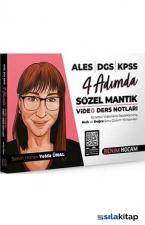 2021 KPSS ALES DGS 4 Adımda Sözel Mantık Video Ders Notları Benim Hocam Yayınları