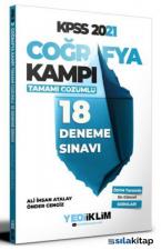 2021 KPSS Coğrafya Kampı Tamamı Çözümlü 18 Deneme Sınavı