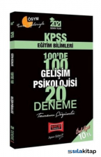 2021 KPSS Eğitim Bilimleri 100De 100 Gelişim Psikolojisi Tamamı Çözümlü 20 Deneme Yargı Yayınları