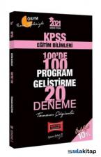 2021 KPSS Eğitim Bilimleri 100De 100 Program Geliştirme Tamamı Çözümlü 20 Deneme