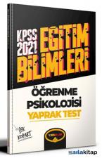 2021 KPSS Eğitim Bilimleri Öğrenme Psikolojisi Çek Kopart Yaprak Test Yediiklim Yayınları