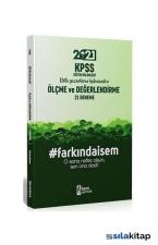 2021 KPSS Eğitim Bilimleri Ölçme ve Değerlendirme 21 Deneme İsem Yayıncılık
