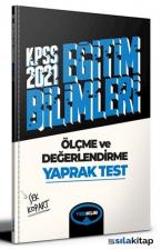 2021 KPSS Eğitim Bilimleri Ölçme ve Değerlendirme Çek Kopart Yaprak Test Yediiklim Yayınları