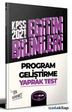 2021 KPSS Eğitim Bilimleri Program Geliştirme Çek Kopart Yaprak Test Yediiklim Yayınları