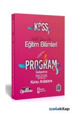 2021 KPSS Eğitim Bilimleri Program Geliştirme Konu Anlatımı İsem Yayıncılık