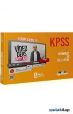 2021 KPSS Eğitim Bilimleri Rehberlik ve Özel Eğitim Video Ders Notları İsem Yayınları