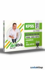 2021 KPSS Eğitim Bilimleri Rehberlik ve Özel Eğitim Video Ders Notları Hocawebde Yayınları