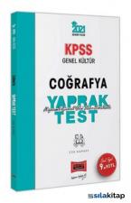 2021 KPSS Genel Kültür Coğrafya Çek Kopart Yaprak Test Yargı Yayınları