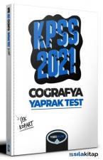 2021 KPSS Genel Kültür Coğrafya Çek Kopart Yaprak Test Yediiklim Yayınları