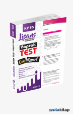 2021 KPSS Genel Kültür Genel Yetenek Kurumsal Çek Kopart Yaprak Test Lider Yayınları