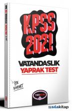 2021 KPSS Genel Kültür Vatandaşlık Çek Kopart Yaprak Test Yediiklim Yayınları