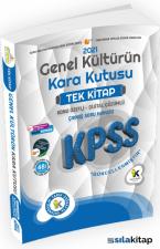 2021 KPSS Genel Kültürün Kara Kutusu Tek Kitap Konu Özetli Dijital Çözümlü Soru Bankası