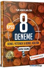2021 KPSS Genel Yetenek Genel Kültür 8 Deneme Dijital Çözümlü Uzman Kariyer Yayınları