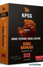 2021 KPSS Genel Yetenek Genel Kültür Çözümlü ve Cevaplı Modüler Soru Bankası Seti Mürekkep Serisi Yargı Yayınları