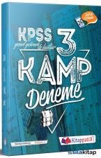 2021 KPSS Genel Yetenek Genel Kültür Kamp 3 Deneme Çözümlü Kitappatik