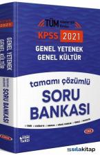 2021 KPSS Genel Yetenek Genel Kültür Soru Bankası Çözümlü Data Yayınları