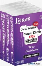 2021 KPSS Genel Yetenek Genel Kültür Tamamı Çözümlü 5 Li Modüler Soru Bankası Lider Yayınları