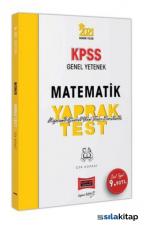 2021 KPSS Genel Yetenek Matematik Çek Kopart Yaprak Test Yargı Yayınları