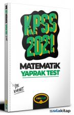 2021 KPSS Genel Yetenek Matematik Çek Kopart Yaprak Test Yediiklim Yayınları