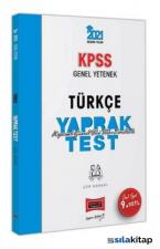 2021 KPSS Genel Yetenek Türkçe Çek Kopart Yaprak Test Yargı Yayınları