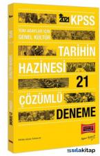 2021 KPSS Gk Tarihin Hazinesi Çözümlü 21 Deneme Yargı Yayınları