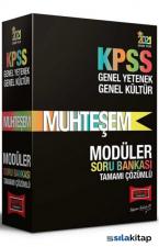 2021 KPSS Muhteşem Genel Yetenek Genel Kültür Tamamı Çözümlü Modüler Soru Bankası Seti Yargı Yayınları