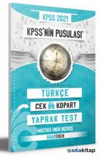 2021 KPSS Nin Pusulası Türkçe Çek Kopart Yaprak Test Doğru Tercih Yayınları