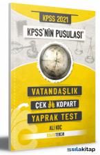 2021 KPSS Nin Pusulası Vatandaşlık Çek Kopart Yaprak Test Doğru Tercih Yayınları