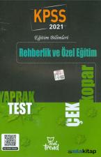 2021 KPSS Rehberlik ve Özel Eğitim Çek Kopar Yaprak Test Yeni Trend Yayınları