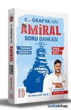 2021 KPSS Tamamı Çözümlü Amiral Coğrafya Soru Bankası Benim Hocam Yayınları