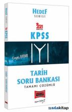2021 KPSS Tarih Tamamı Çözümlü Soru Bankası Hedef Serisi Yargı Yayınları