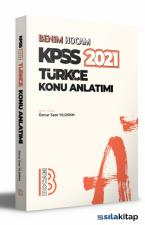 2021 KPSS Türkçe Konu Anlatımı Benim Hocam Yayınları
