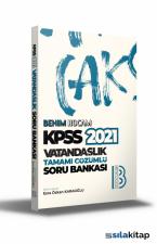 2021 KPSS Vatandaşlık Tamamı Çözümlü Soru Bankası Benim Hocam Yayınları