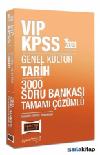 2021 KPSS Vıp Tarih Tamamı Çözümlü 3000 Soru Bankası Yargı Yayınları